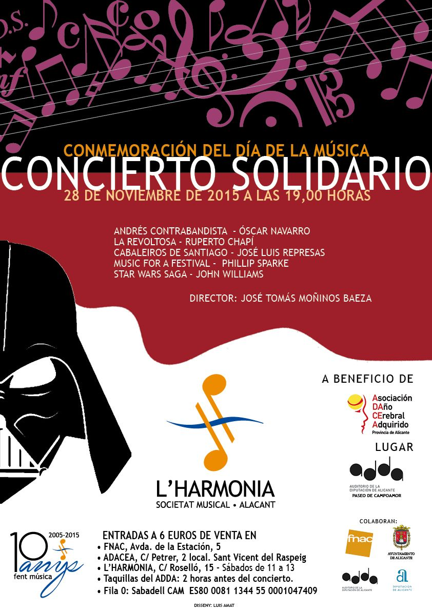 Cartel Solidario 2015